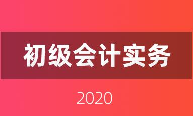 2020年预习阶段《初级会计实务》必会知识点
