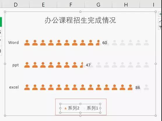 Excel怎么做条形图20