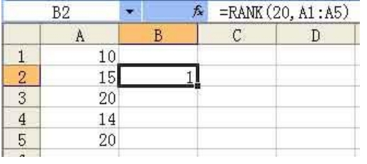 excel函数考点4