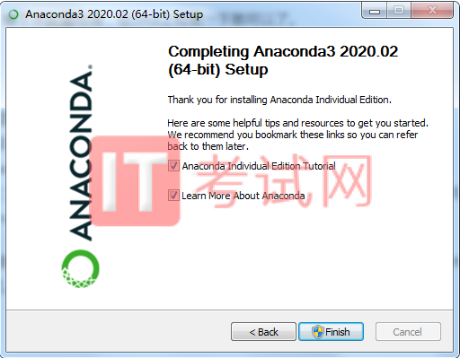 Anaconda下载和安装步骤及使用教程11
