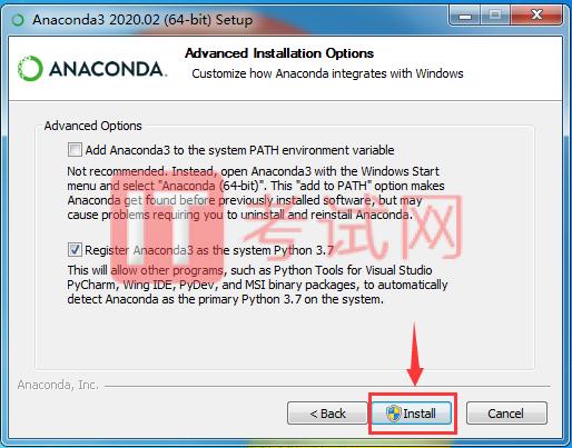 Anaconda下载和安装步骤及使用教程9