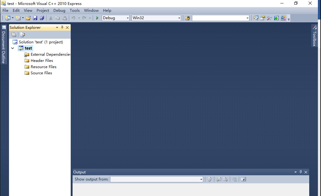 Visual C++ 2010下载安装使用教程12