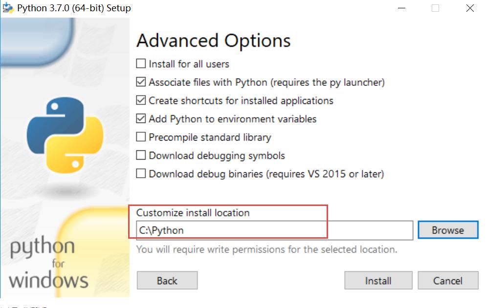 windows系统下如何下载安装python3及环境变量设置2