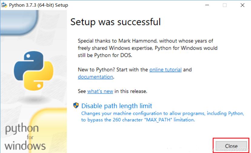 windows系统下如何下载安装python3及环境变量设置4