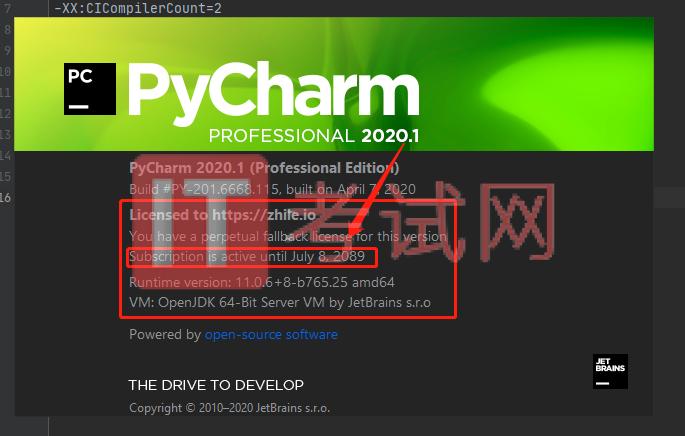 PyCharm2020.1永久注册激活码及详细安装教程(亲测有效)21